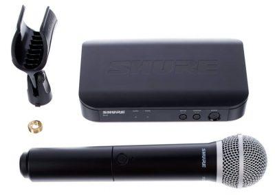 Micro HF Shure SM58