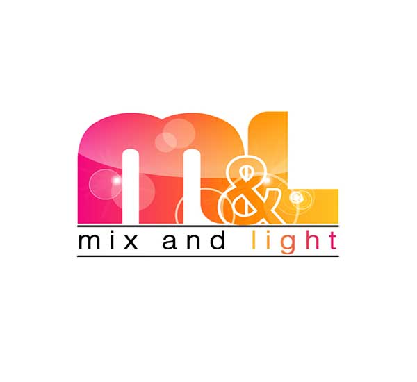 Mix and Light Logo