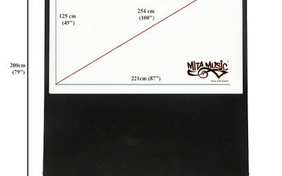 Écran de projection 100 pouces (254cm)