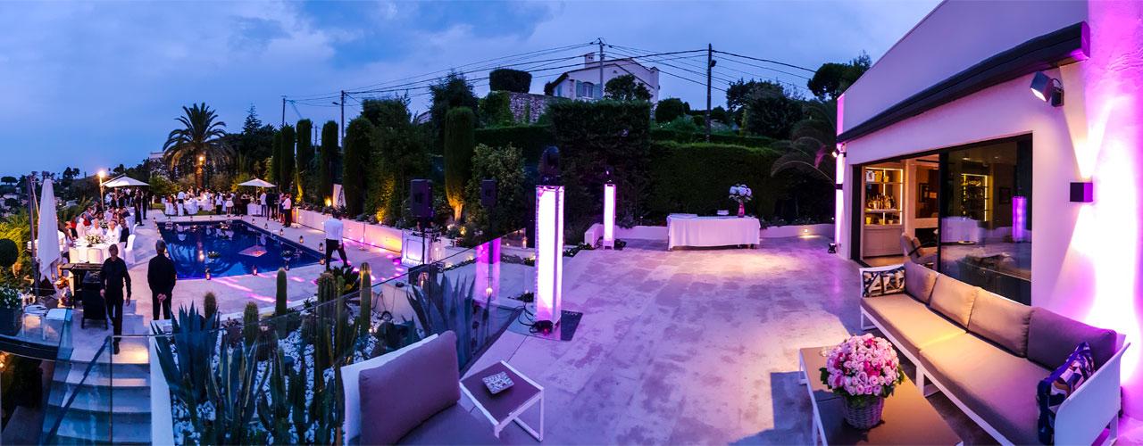 Soirée privée - Cannes