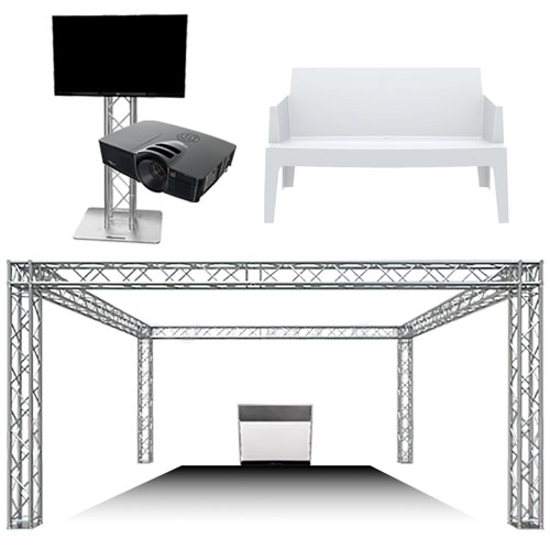 Location structure, mobilier et audiovisuel