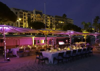 Private event at Goelan Beach - Cannes
