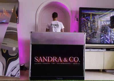 Terrasse Sandra Sisley - Festival de Cannes 1