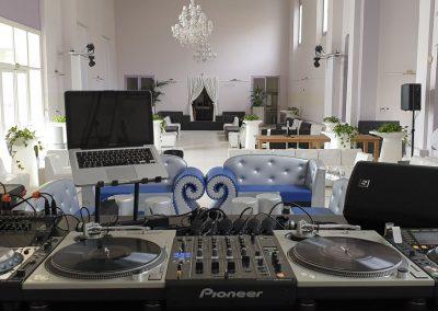 Régie DJ Pionner & Technics SL1200 - Palais Clément Massier