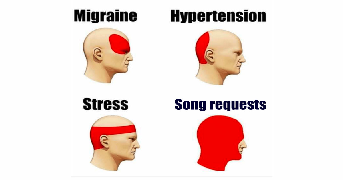 Dj song request (Headache)