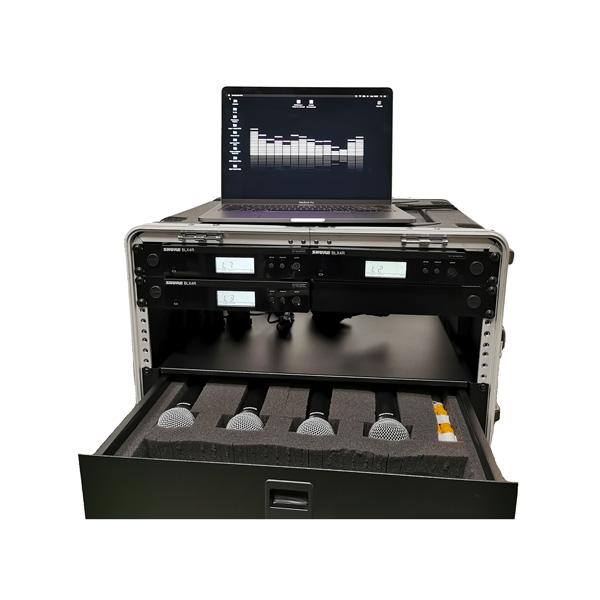 Kit Micros Shure rack