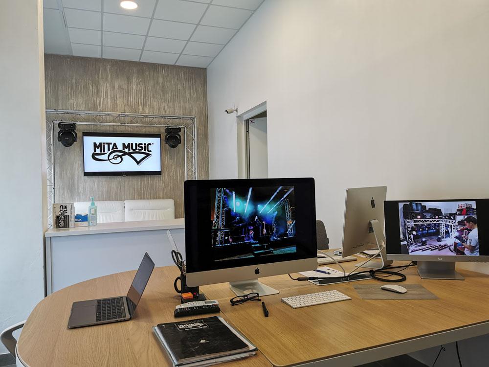 Mita Music - Nos Bureaux à Nice